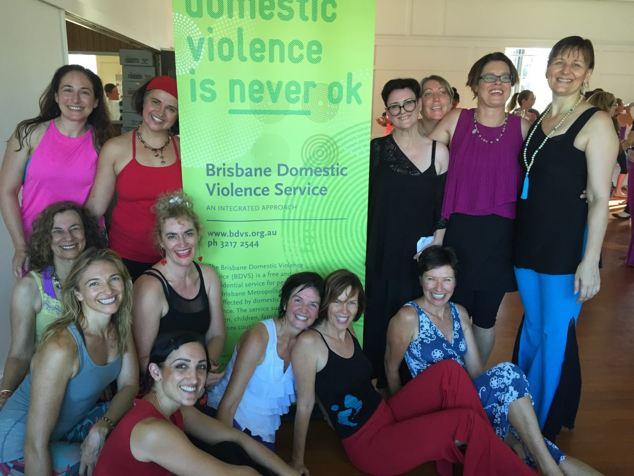 The Nia Brisbane community held a 'One Billion Rising Dance Jam' in February 2016 to raise funds for our Brisbane Domestic Violence Service. Photography: Robyn McDonald.